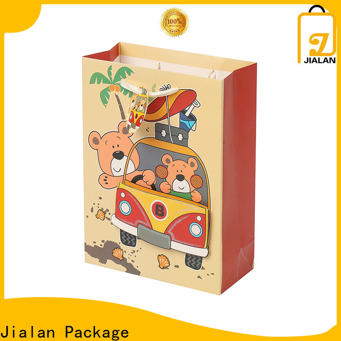 Customized decorative paper bags wholesale for gifts package