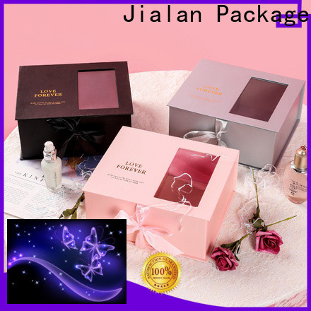 Jialan Package paper gift box wholesale for packing birthday gifts
