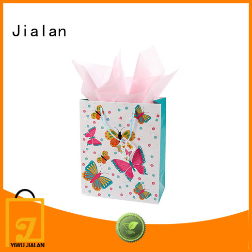 Jialan personalized paper bags ideal for packing gifts