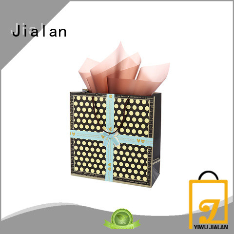 Jialan paper gift bags ideal for packing birthday gifts