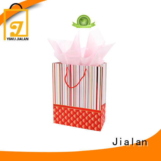 personalized paper bags packing birthday gifts