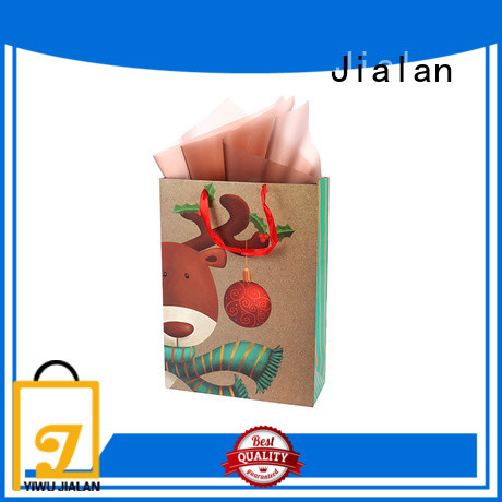 Jialan paper gift bags satisfying for packing gifts