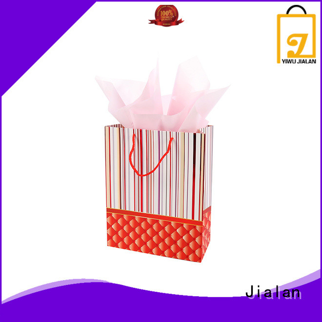 personalized paper bags optimal for holiday gifts packing