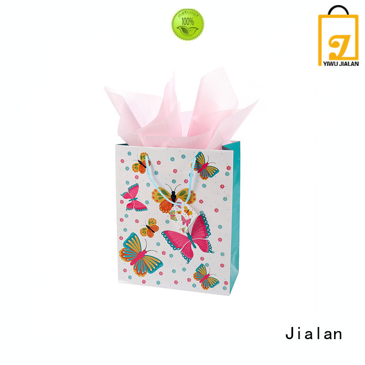 personalized paper bags perfect for holiday gifts packing Jialan