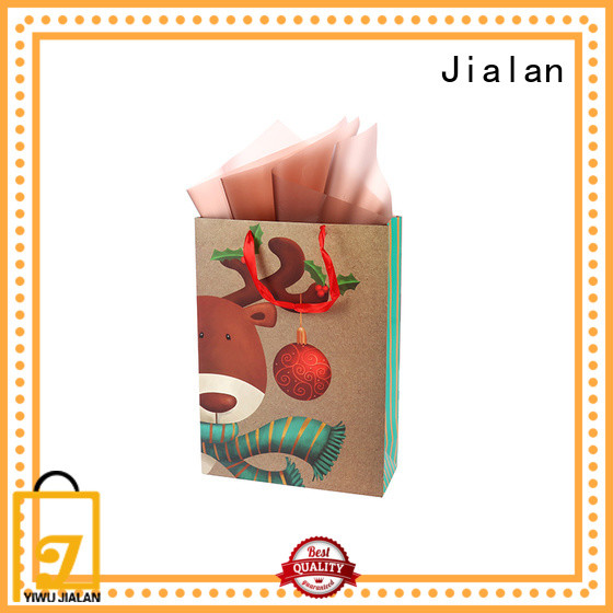 personalized paper bags packing gifts