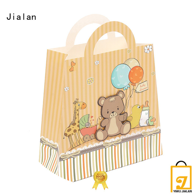 Jialan personalized paper bags perfect for holiday gifts packing