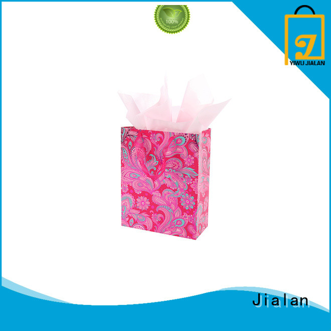 Jialan personalized paper bags optimal for packing gifts