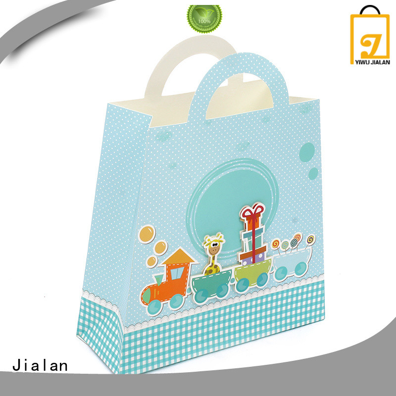 Jialan good quality gift bags perfect for packing birthday gifts