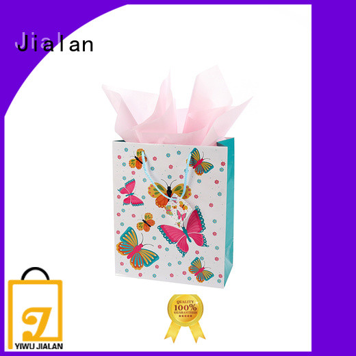 Eco-Friendly personalized paper bags packing birthday gifts