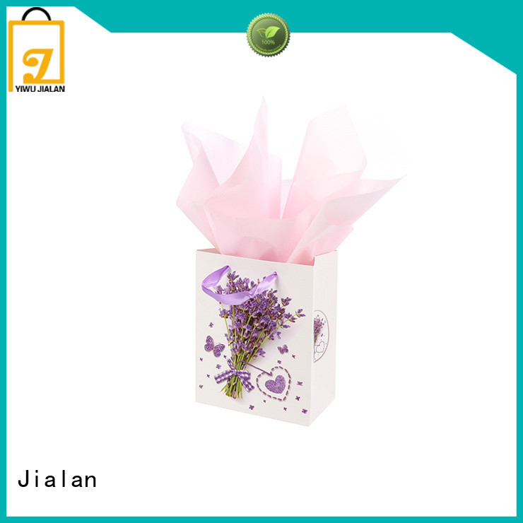 Jialan personalized paper bags great for packing birthday gifts