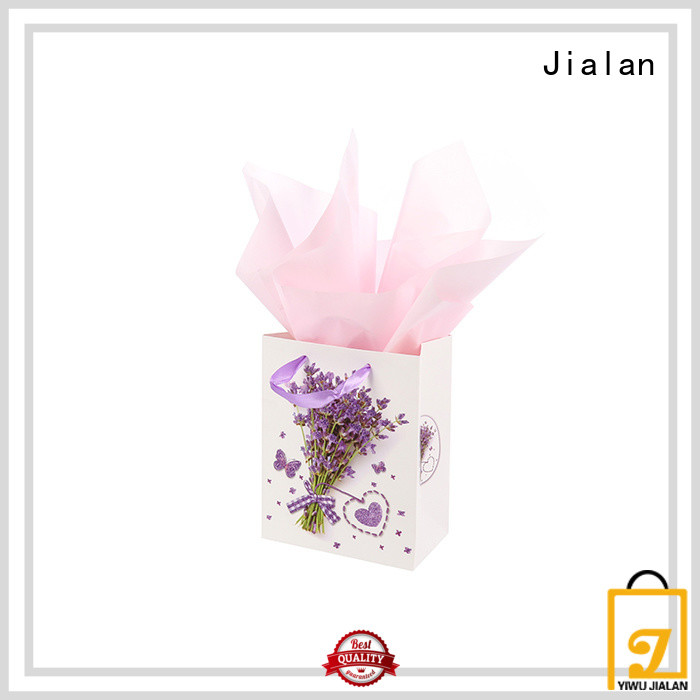Jialan personalized paper bags satisfying for packing gifts