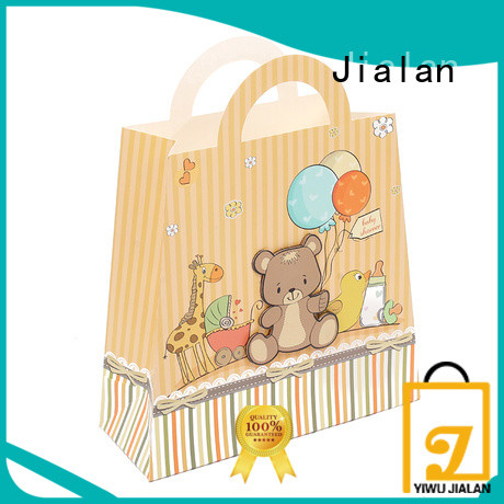 Jialan personalized paper bags satisfying for packing birthday gifts