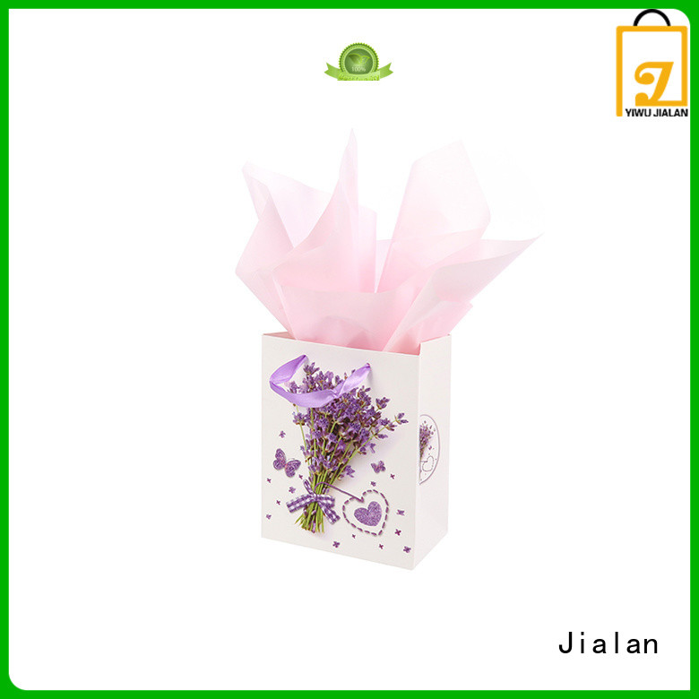 Jialan Eco-Friendly paper gift bags packing gifts