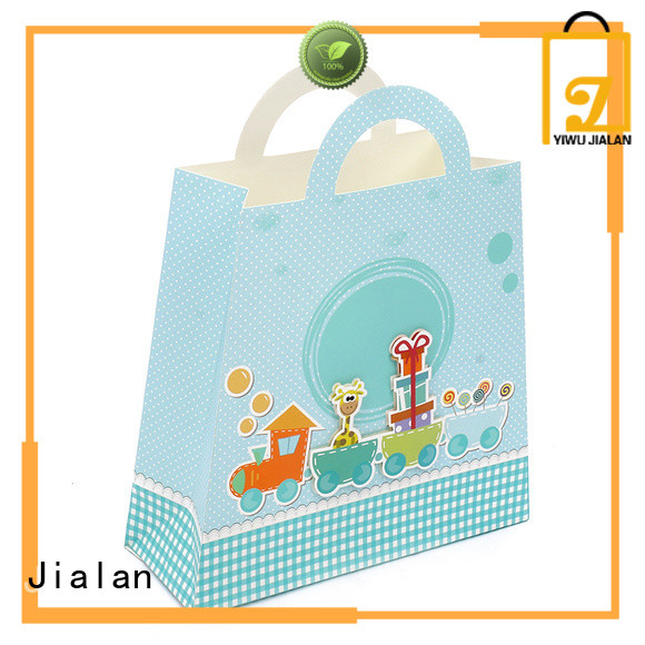 Jialan Eco-Friendly paper gift bags satisfying for holiday gifts packing