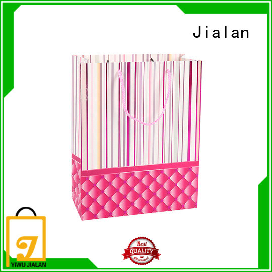 Jialan professional gift bags satisfying for packing gifts