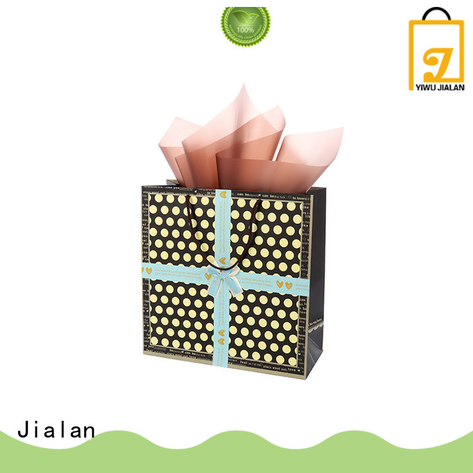 Jialan Eco-Friendly paper gift bags optimal for holiday gifts packing
