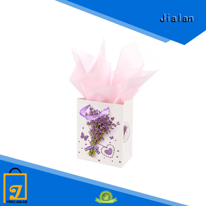 Jialan Eco-Friendly personalized paper bags perfect for packing birthday gifts