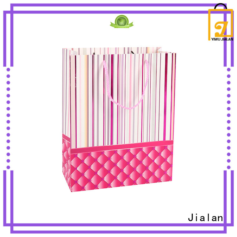 Jialan cost saving paper gift bags packing birthday gifts