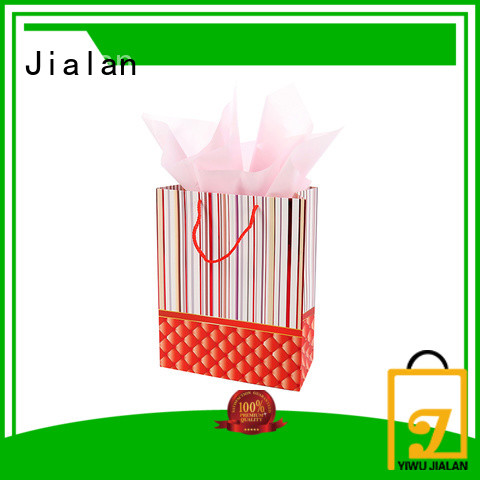 Jialan cost saving personalized paper bags great for holiday gifts packing
