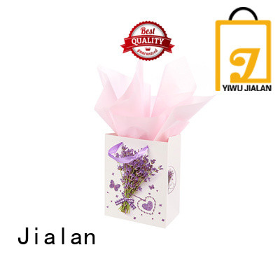 Jialan paper gift bags optimal for holiday gifts packing