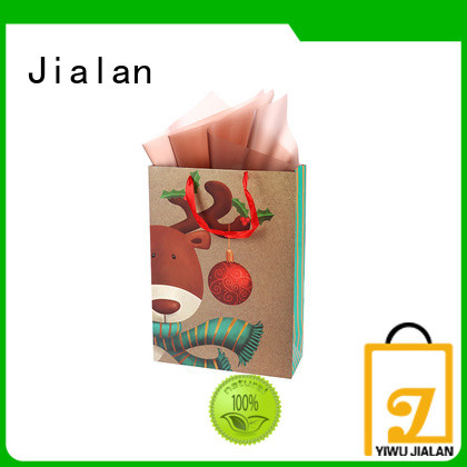 Jialan Eco-Friendly brown paper bag packing gifts
