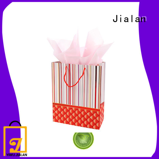 Jialan Eco-Friendly personalized paper bags ideal for holiday gifts packing