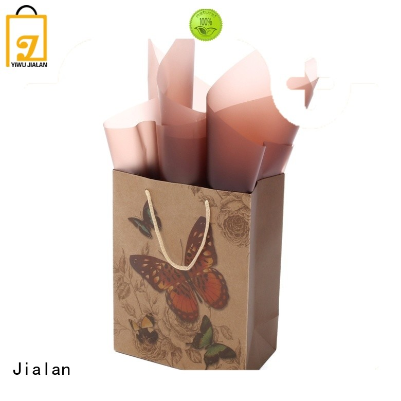 Jialan high grade paper bag satisfying for special festival gift packaging