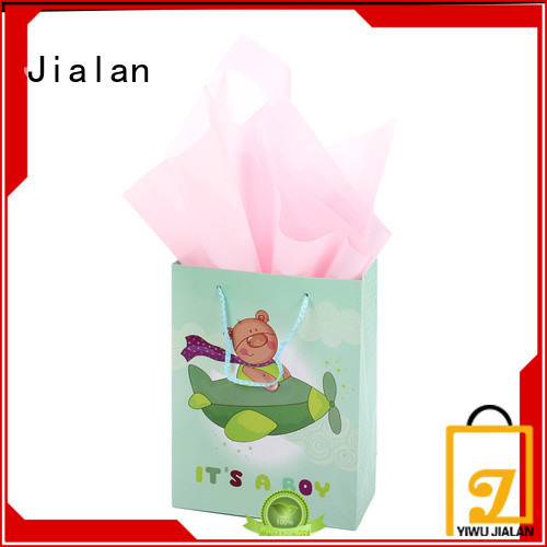 Jialan gift wrap bags popular for packing birthday gifts