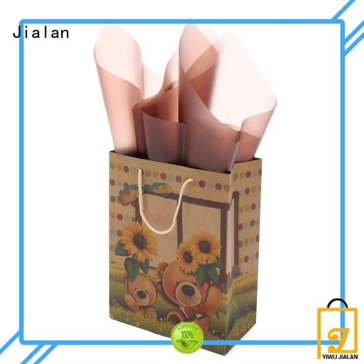 Jialan good quality paper bag perfect for clothing stores