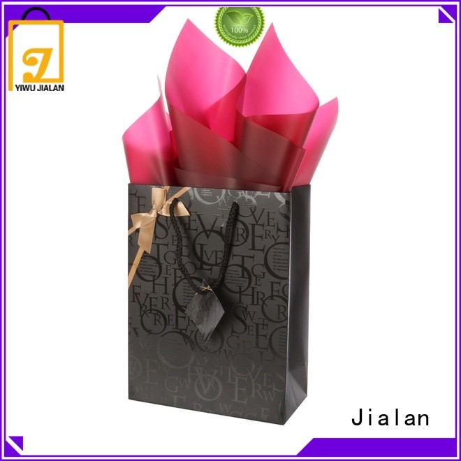 Jialan cost saving personalized paper bags satisfying for packing gifts