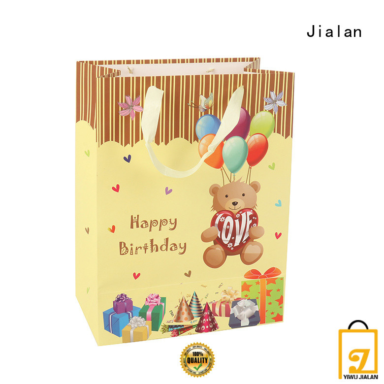 Jialan various paper gift bags optimal for holiday gifts packing