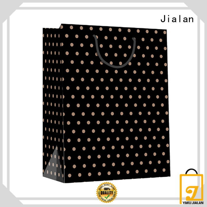 Jialan high grade paper bag optimal for daily shopping