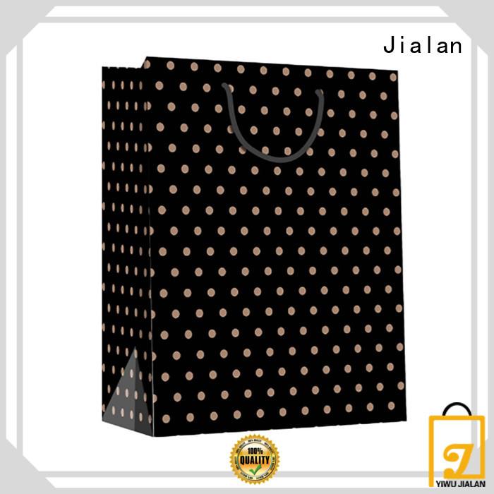 Jialan high grade paper bag optimal for daily shopping