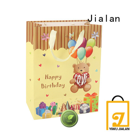 Jialan personalized paper bags optimal for packing birthday gifts