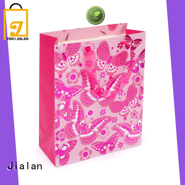 Jialan professional gift bags optimal for holiday gifts packing