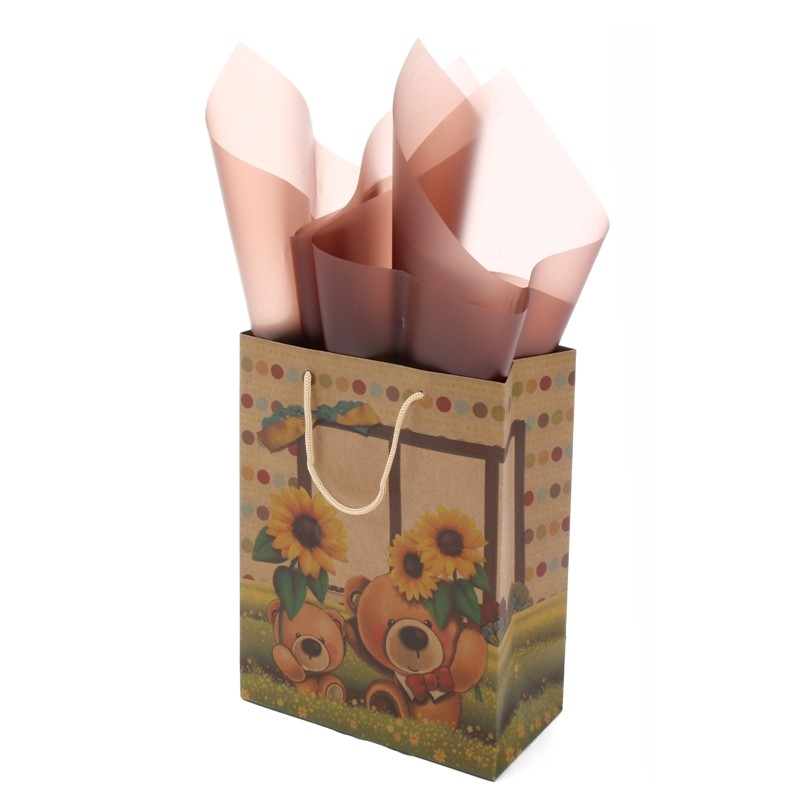 High quality custom logo Paper Kraft Bags