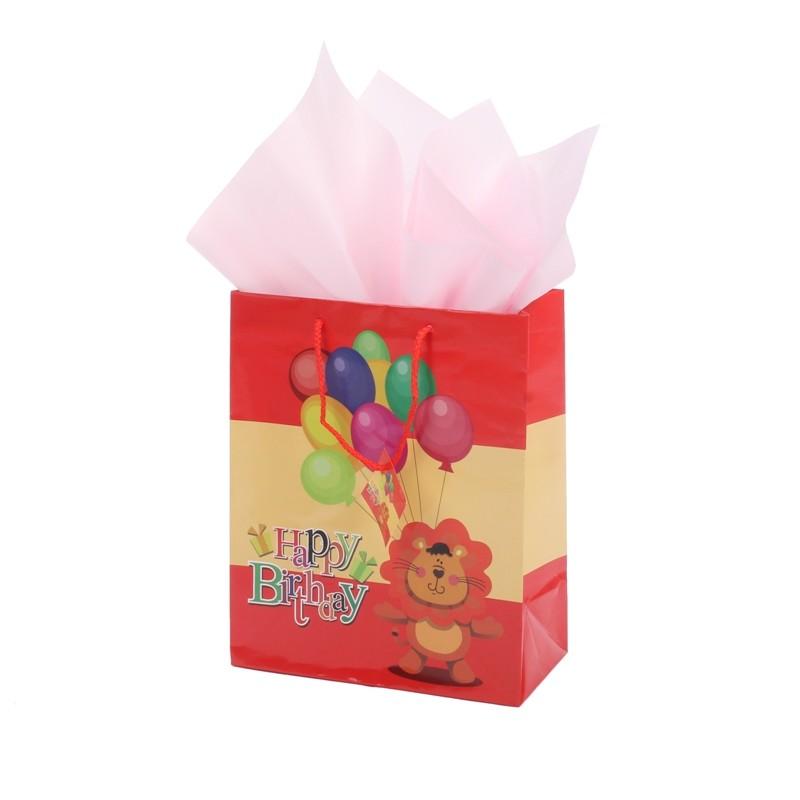 Hot-sell baby showering favorite gift paper shopping bag