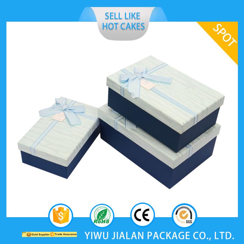 Custom LOGO Deluxe Paper Gift Box fashion cosmetic box for wedding