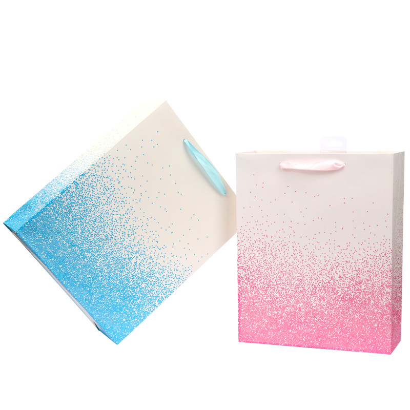 Hot Selling Wholesale Custom Ivory Paper Shopping Gift Bag With Handle