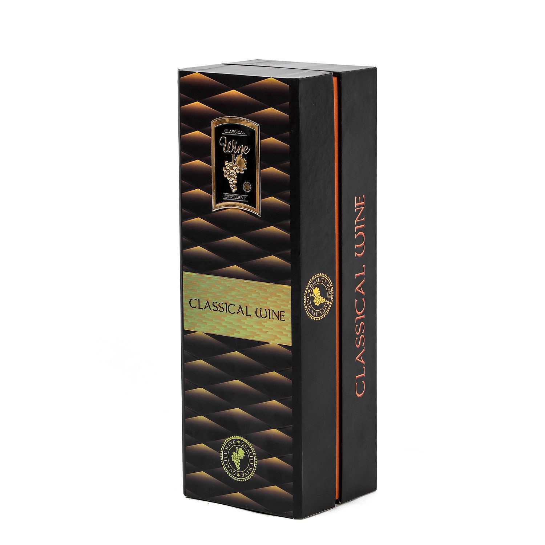 Wholesale High Quality Luxury Wine Paper Packaging Box custom printing wine glass gift box