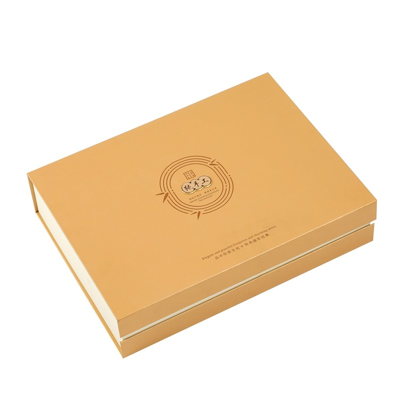 Wholesale High Quality Luxury Exquisite 3D Hot stamping Paper Box For Gift