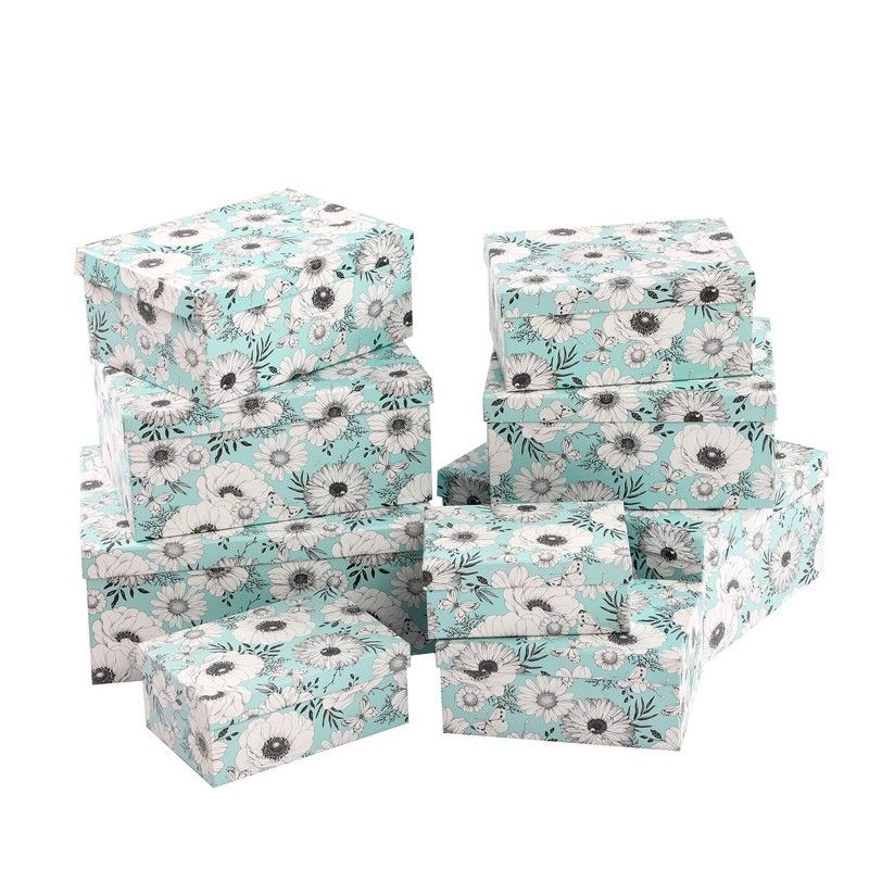 wholesale   new style gift box  eco friendly custom paper gift packaging design printing folding paper box