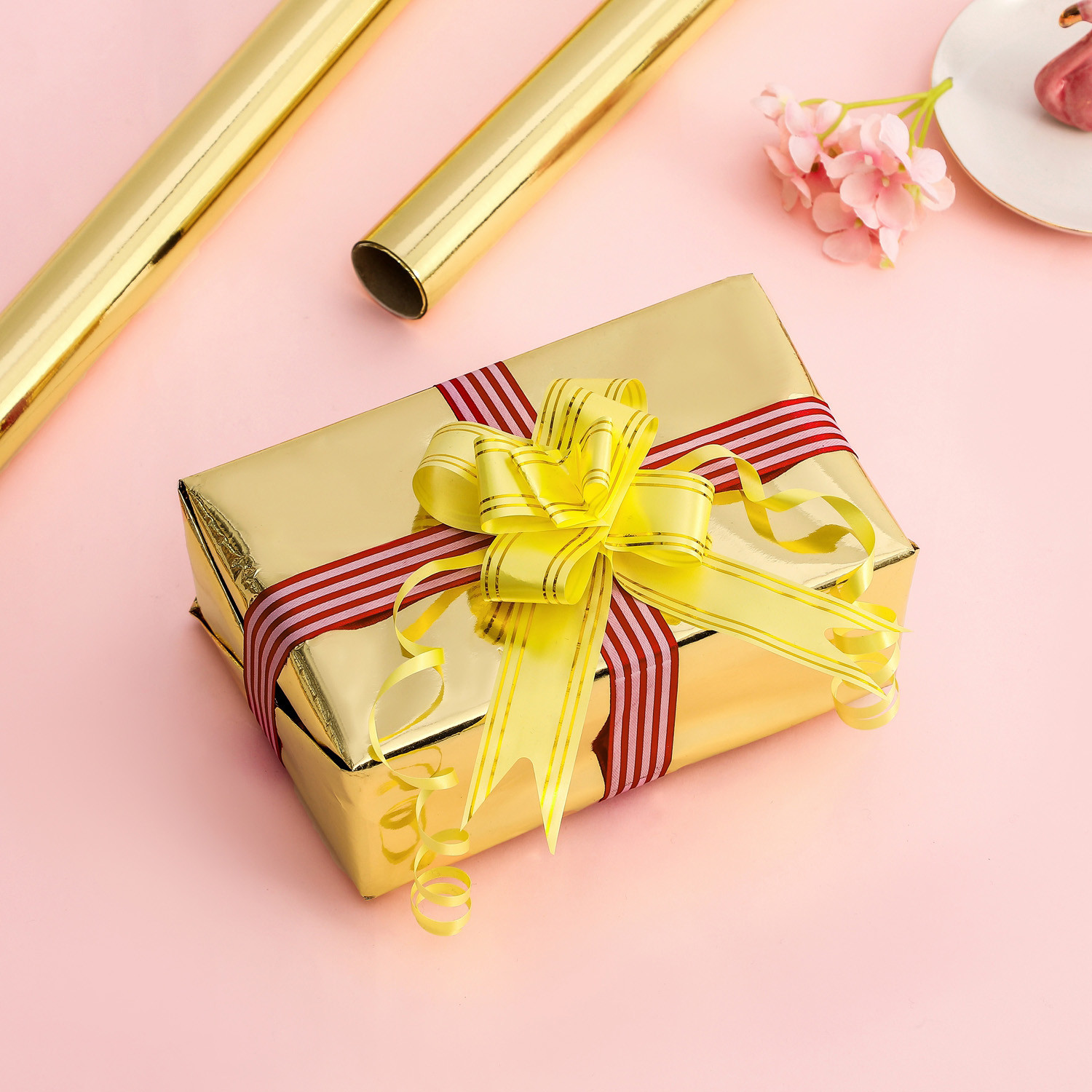 Custom Logo Luxury Printed Wrapping Paper flower packing paper