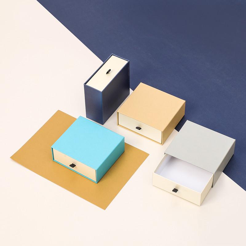 Manufacturer jewelry box cosmetics exquisite belt box belt box drawer box gift packaging box custom