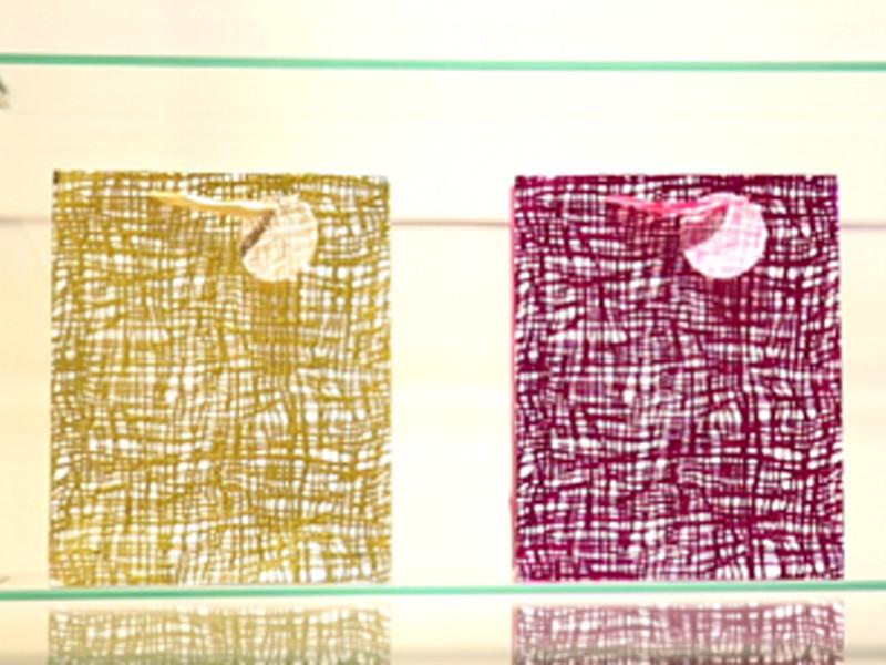 كيفية عرض مربع ورقة حقيبة الورق وأغطية عينات الورق لتبدو جيدة؟