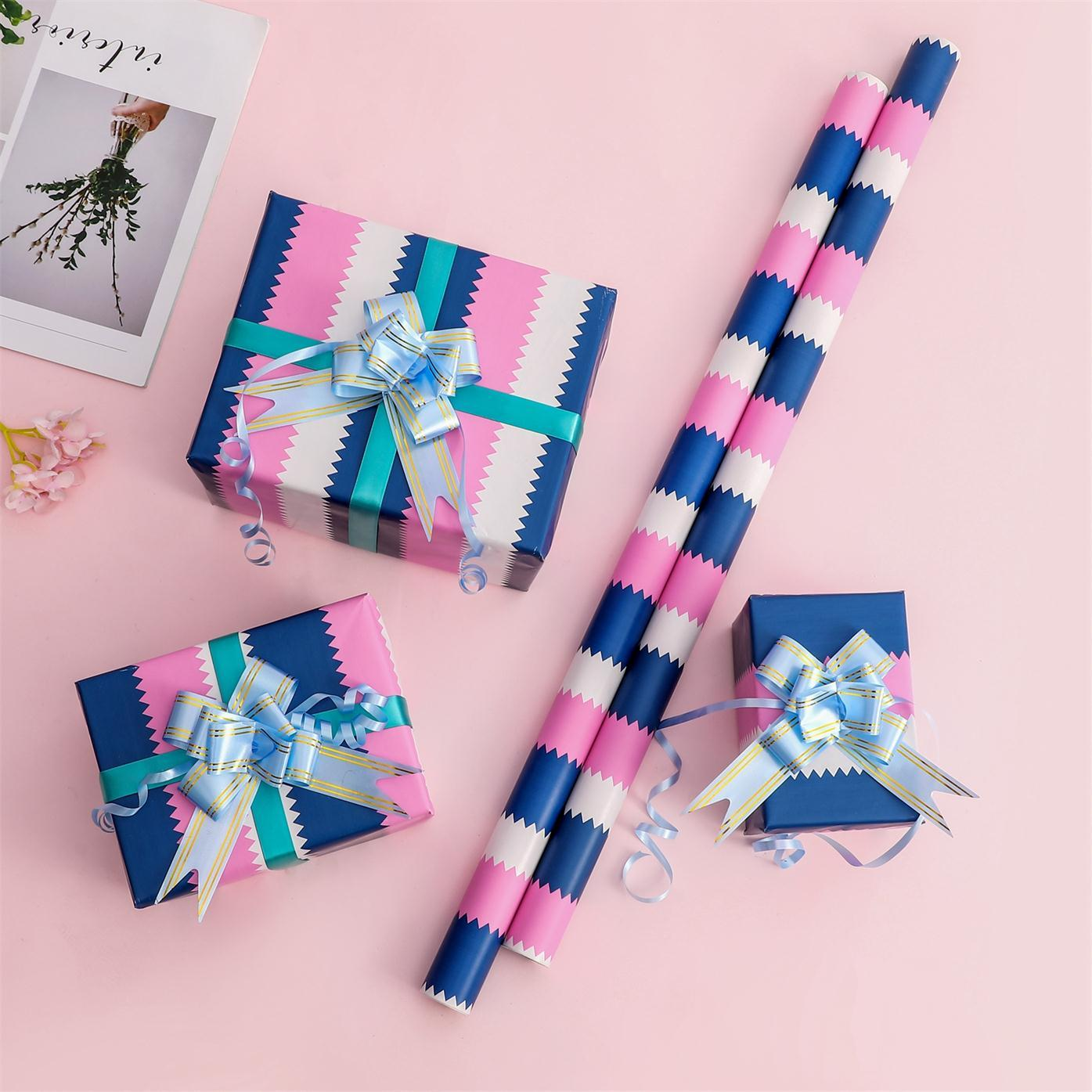 Manufacturer Hot Selling Exquisite Design Wrapping Paper For Packing Gift In Stock