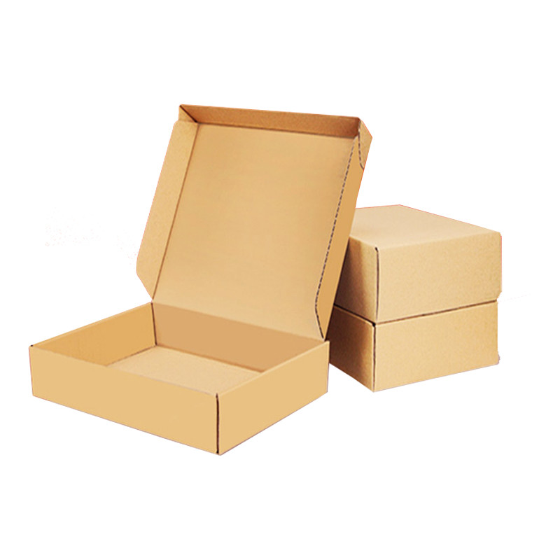 Wholesale Custom Recycled Corrugated Shipping Cardboard kraft paper packaging box