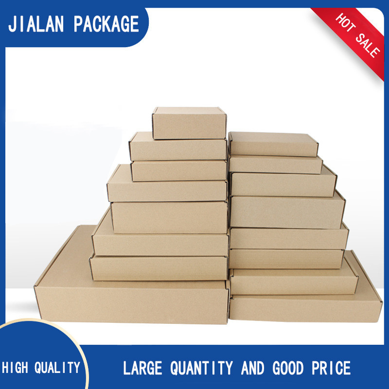 Wholesale High Quality 3 ply carton box custom cardboard boxes cheap Printed Corrugated cardboard boxes bulk