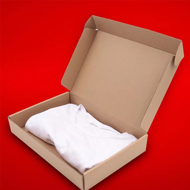 Factory direct selling ready to ship shipping boxes with custom logo