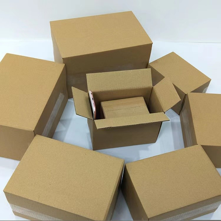Recycled moving boxes cardboard packaging large custom carton box